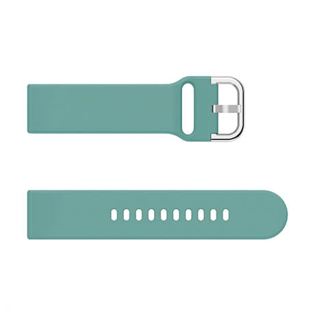 Light blue soft silicone watch strap for Haylou LS02