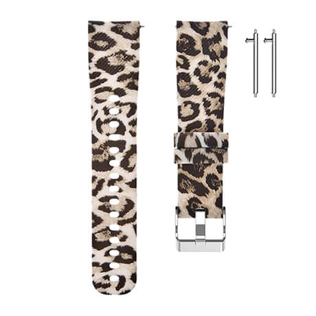 Leopards print soft silicone band for Haylou LS02
