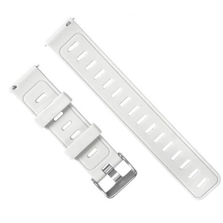 White silicone soft wristband for Haylou LS02