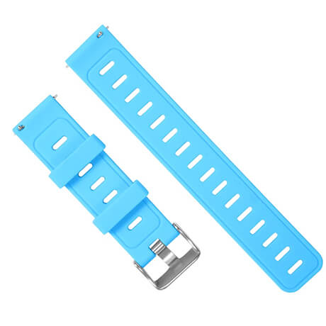 Blue silicone soft wristband for Haylou LS02