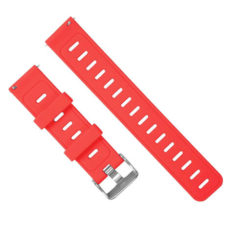 Red silicone soft wristband for Haylou LS02
