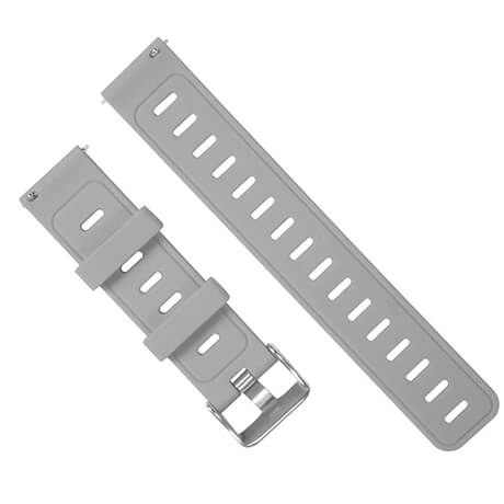 Gray silicone soft wristband for Haylou LS02