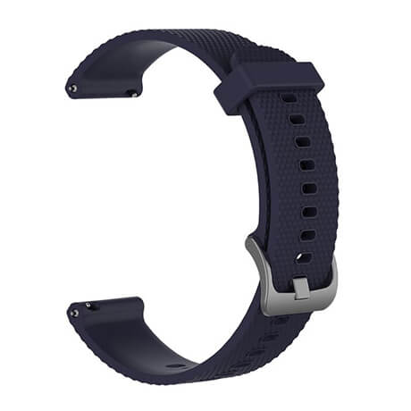 Navy blue Correa silicone soft strap for Haylou LS02