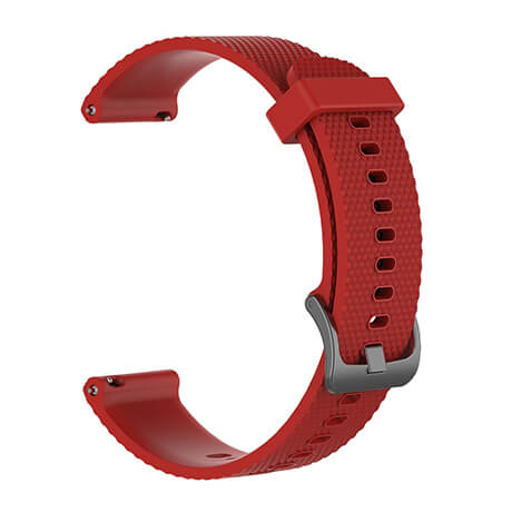 Red Correa silicone soft strap for Haylou LS02