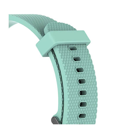 Mint green Correa silicone soft strap for Haylou LS02
