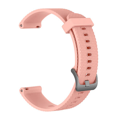 Light pink Correa silicone soft strap for Haylou LS02