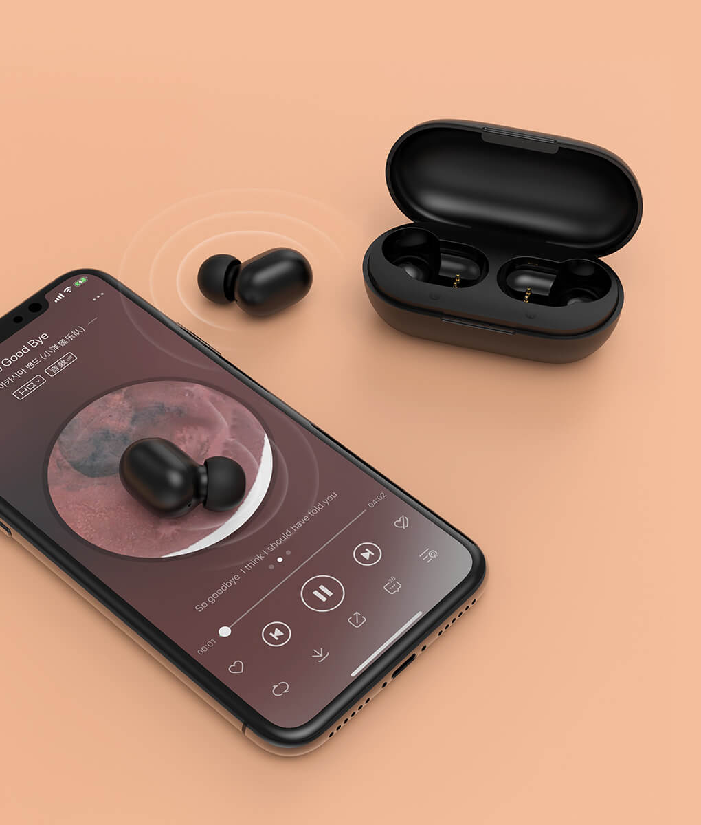 Haylou GT1 Earbuds Seamless Switch