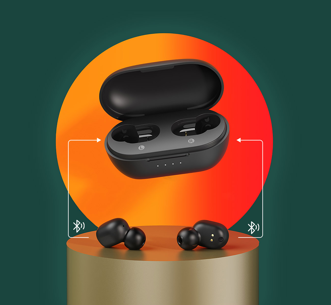 Haylou GT1 XR  TWS Bluetooth Earbuds