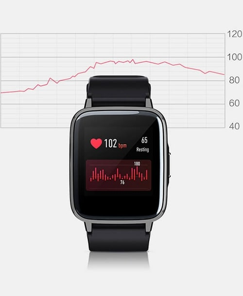Haylou LS01 Smart Watch Heart Rate Monitor