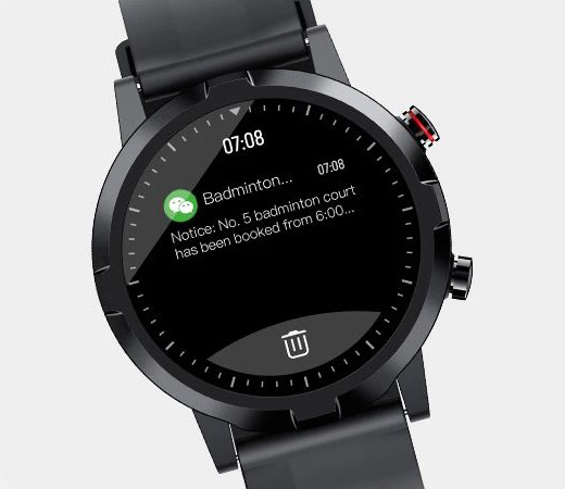 Haylou RT LS05S Message reminder screen