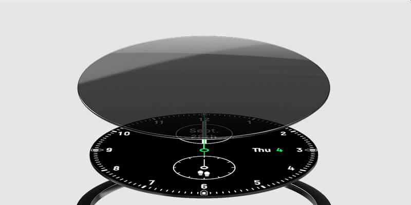 Haylou Solar Smart Watch Round Watch Face