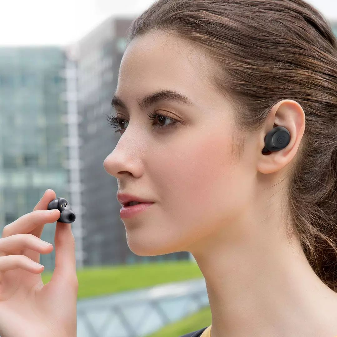 Haylou T16 Earbuds with active noise cancellation